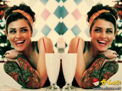 as mais lindas e sexy garotas tatuadas (24)