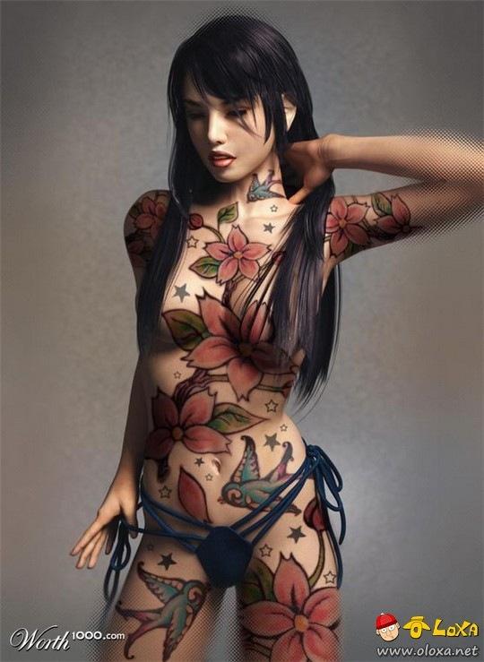 garotas tatuadas e gostosas parte 1 (7)