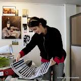 Nora ARBELBIDE expose à la Bibliothèque de Bayonne