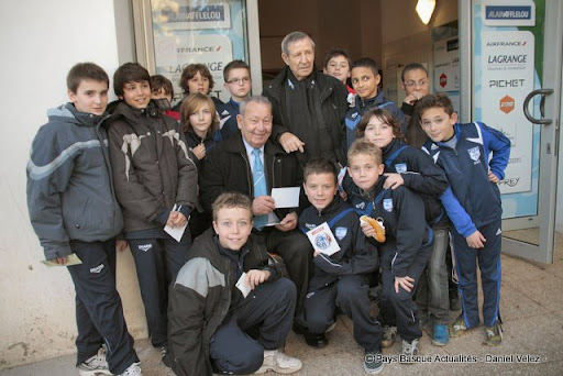 Football-Aviron /Reims- Just Fontaine et Raymond Kopa, invités d'honneur