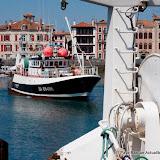 L'Albatros s'approche du quai
