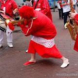 Musique en rouge et blanc