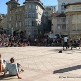 Hip hop sur l'esplanade du Casino de Biarritz