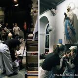 Sous le regard de la Vierge Marie