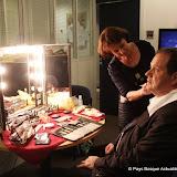 Max Brisson au maquillage