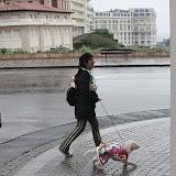 Une chasuble pour se protéger de la pluie