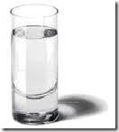 Copo com agua