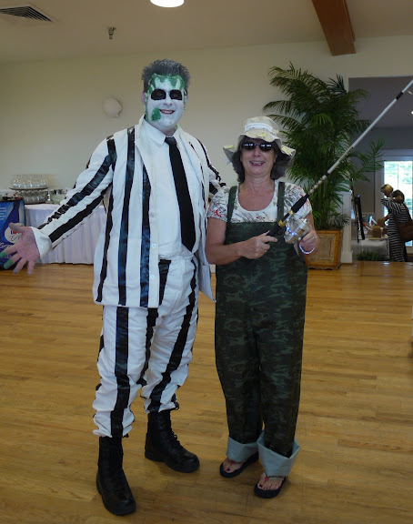 Bill Gallagher teaches at the Crystal Coast for some Halloween Fun - Daniel Nicholson, Angie O'Bey