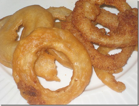 12 Onion Rings Finished