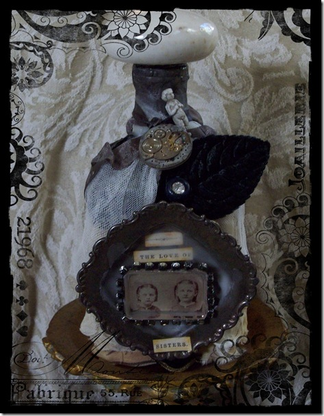 sisters altered bottle