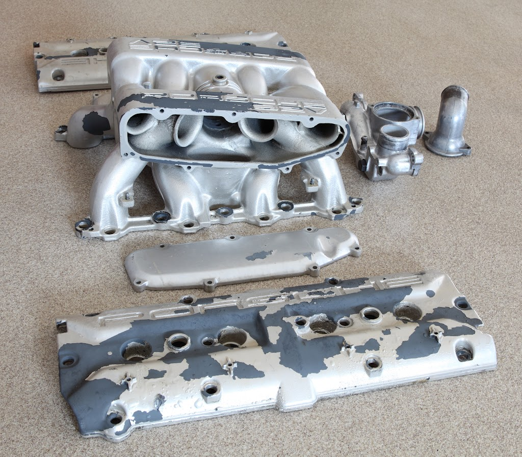 1994 Porsche 928 Camshaft: Powder Coating Intake/cam Covers/etc. Best Practices (for