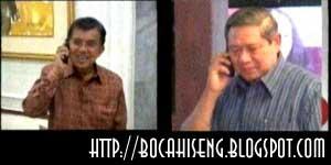 percakapan telepon Jusuf Kalla SBY