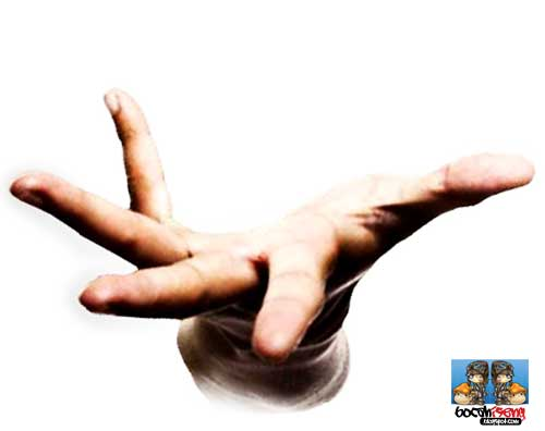 tangan gatel