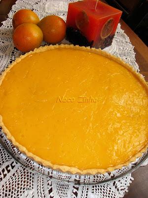 Torta sablé de laranja