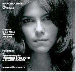 MARCELA BIASI - Vitrola (allTV) - 6-5-2009