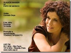 GLAUCIA NASSER - Papo de Músico (USP FM) - 5-7-2009