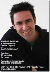 MATEUS SARTORI - Papo de Músico (USP FM) - 26-7-2009