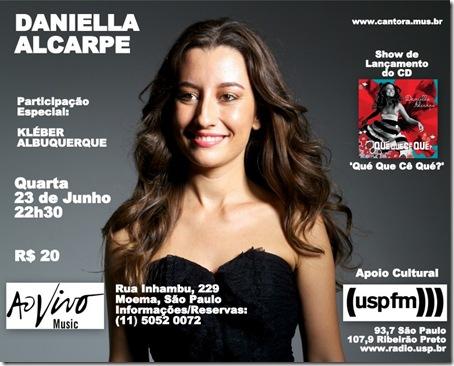 DANIELLA ALCARPE 2 - Ao Vivo Music - 23-6-2010