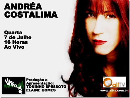 ANDRÉA COSTALIMA - Vitrola (allTV) - 7-7-2010