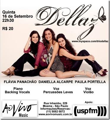 DELLAZ - Ao Vivo Music - 16-9-2010