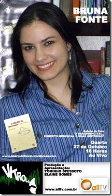 BRUNA FONTE - Vitrola - 27-10-2010