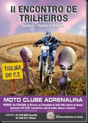 Ipuaçu_Folder II Encontro de Trilheiros