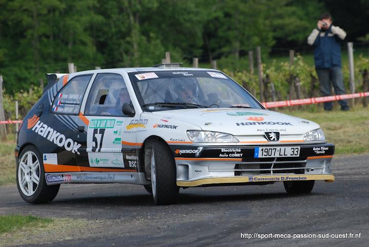 Yohan DUPOUY / Bruno CAMPANER  - 306 S16 F2/14 Rallye%20du%20Saint%20Emilion%202010%20771
