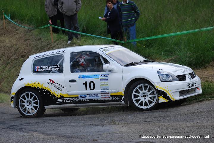 Guillaume GLADINE / Laurent TISSEDRE - R5 GT Turbo F2/14 Rallye%20du%20Chasselas%202010%20191