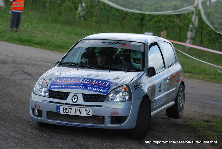 Alexis MURAT / Johan GRES - Clio RS F214 Rallye%20du%20Chasselas%202010%20363