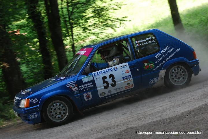 Stéphane DEVEZ / Rémi LAMOUROUX - 205 Rallye FA5 Rallye%20des%203%20Ch%C3%A2teaux%202010%20375
