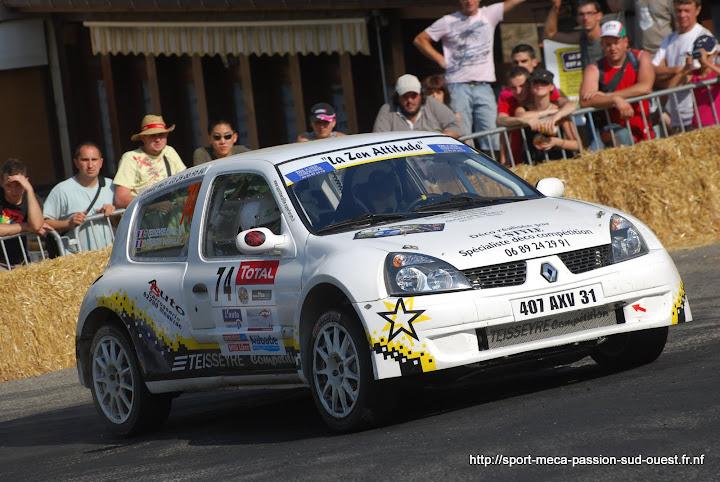 Cédric TEISSEYRE / Valérie TIRBOIS - Clio RS F214 Rallye%20du%20Rouergue%202010%20713