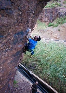 Escalar en fataga, rock climb, canarias10