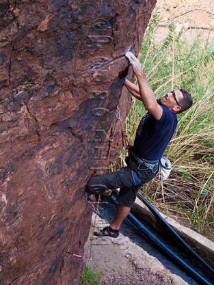 Escalar en fataga, rock climb, canarias02