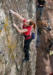 Escalar en tamadaba, rock climb, canarias04