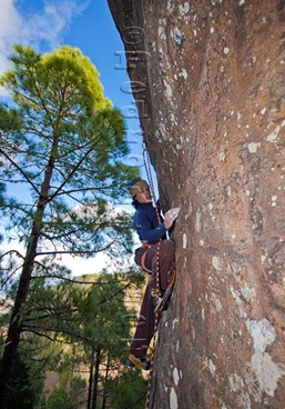 Escalar en tamadaba, rock climb, canarias11