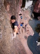 Escalada en sorrueda, escalada en Canarias, climb in Canarias, escalar en Gran Canaria08