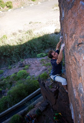 Escalar en Canarias, climb in canarias, fataga 31