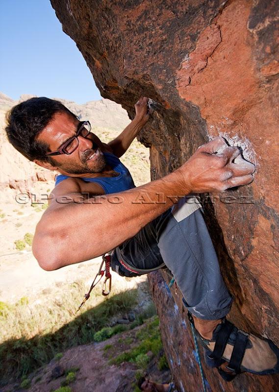 Escalar en Canarias, climb in canarias, fataga 35