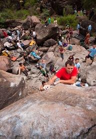 Encuentro de bloque de Mogan, boulder Mogan, Gran Canaria Boulder 012