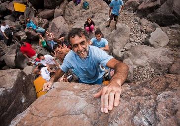 Encuentro de bloque de Mogan, boulder Mogan, Gran Canaria Boulder 016