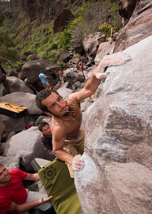 Encuentro de bloque de Mogan, boulder Mogan, Gran Canaria Boulder 075