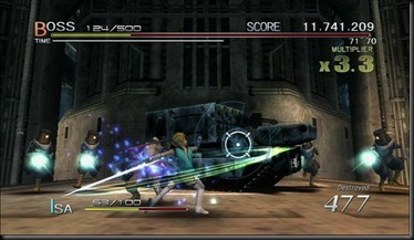 Sin & Punishment screenshot