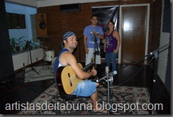 Silvano, Juba e Marisa Mendes