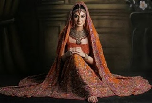Ladies wedding wear or Pakistani dresses for bride