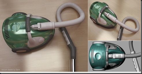 Vacuum Cleaner by Damir