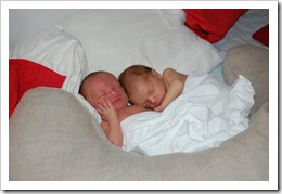 Gustav and Arvid sleeping again