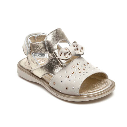Step2wo Rainy - Diamanté & Bow Sandal SHOE
