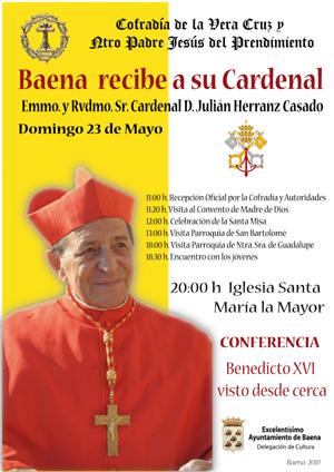 El cardenal visita Baena