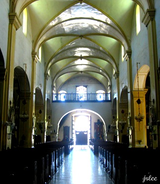 inside the Vigan Cathedral
