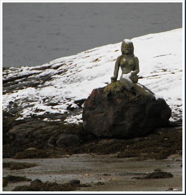 Den lille Havfruen i Pålsbukta